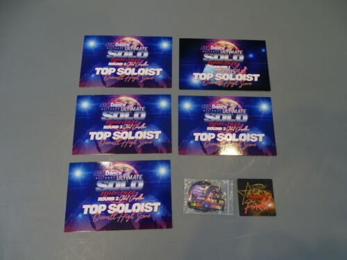 STAR ALLIANCE ULTIMATE DANCE SOLO EXPERIENCE GLOBAL STAR SEARCH AWARD PAPERS PIN