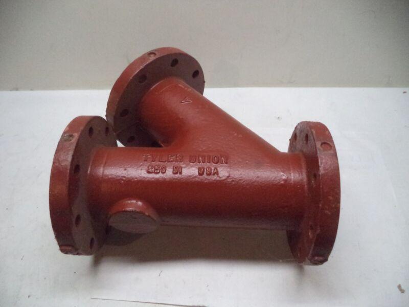 """Tyler Union 4"""" Ductile Iron DI Wye 250"""