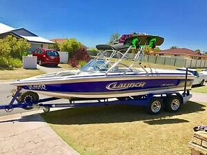 Supra launch 22ssv    Similar to nautique Malibu mastercraft centurion Redcliffe Redcliffe Area Preview