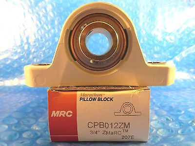 Mrc Bearing Cpb012zm Pillow Block 34 Shaft 1 516 Base To Center