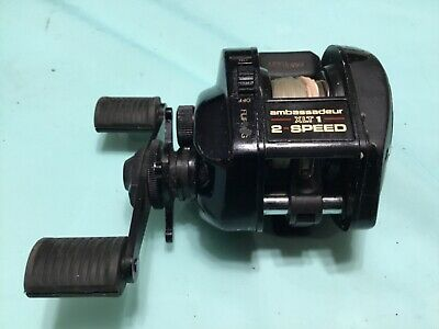 Abu Garcia Ambassadeur XLT1 2 Speed Baitcast Fishing Reel