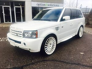 2009 Range Rover Sport:Guarantied Financing Avalible