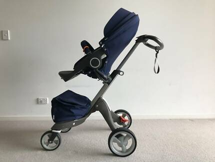 Stokke XPlory Navy Blue used good condition