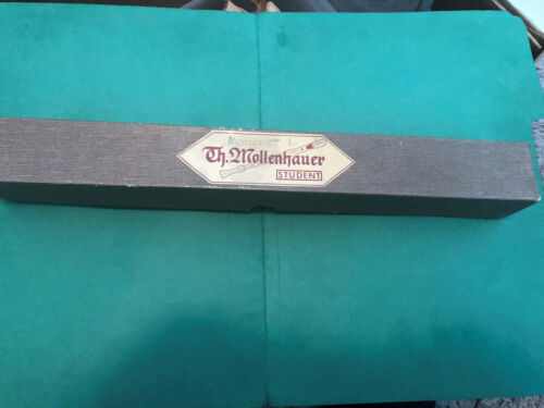VINTAGE TH. MOLLENHAUER STUDENT RECORDER WITH ORIGINAL BOX & CLEANING BRUSH