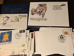 Old stamp hoard collection-121 first day covers with stamps/books Tumbi Umbi Wyong Area Preview