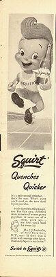 1947 Vintage ad for Squirt Soda/Cute Cartoon Character (050813)](Cute Squirt)