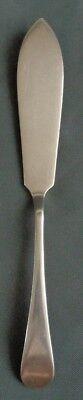 MAPPIN & WEBB PLATE verzilverde vismes 20,5cm fish knife Fischmesser couteau