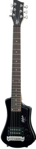 Hofner HCT Shorty Guitar - Black -HCTSHBKO-