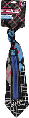 Monster High Boy Costumes (Morris Costumes Boys Monster High Freaky Fashion Clip On Tie One Size.)