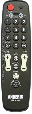 NEW ANDERIC 1-Device Universal Remote Control RRH100 Hospita
