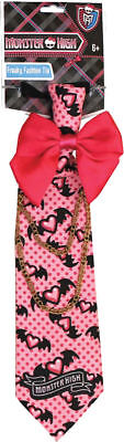 Morris Costumes Boys Monster High Fashion Clip On Tie Pink One Size. XS12141](Boy Monster High Costumes)