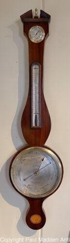 Antique Sheraton Wheel Barometer by Giani, London