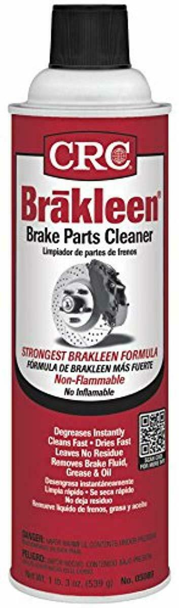 Car Parts - CAR CRC 05089 BRAKLEEN Brake Parts Cleaner - Non-Flammable -19 Wt Oz