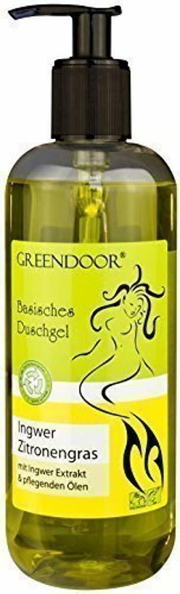 500ml Greendoor Basisches Duschgel Ingwer Zitronengras, biologisch abbaubar, Nat
