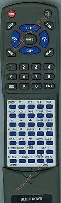 Replacement Remote for ONKYO TXSR502, 24140567, RC567M