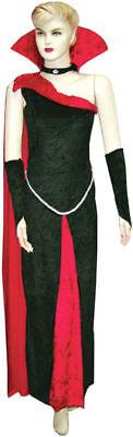 Morris Costumes Women's New Vampire Blood Raven Costume Black Red M/L. - Vampire Women Costumes