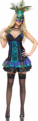 Morris Costumes Adult Women's Animals & Insects Peacock Costume XS. - Peacocks Halloween Costumes
