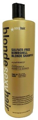 (Sexy Hair - Blonde Sexy Hair Bombshell Blonde Shampoo 33.8 oz)