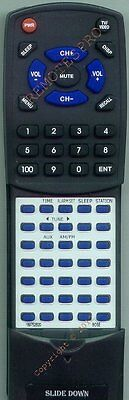 Replacement Remote For Bose Wave Radio Black, 189752002