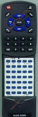 Replacement Remote For Bose Awrc1g White, Wave Radio Whit...