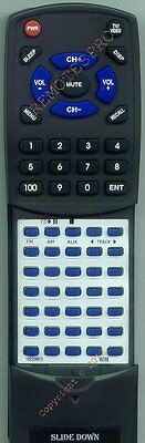 Replacement Remote For Bose Wave Radio Cd, 193334b10