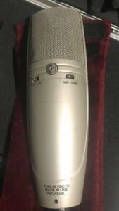 SHURE KSM44 STUDIO MIC. RECORD NOW !