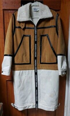 Andrea crews men's long jacket size L