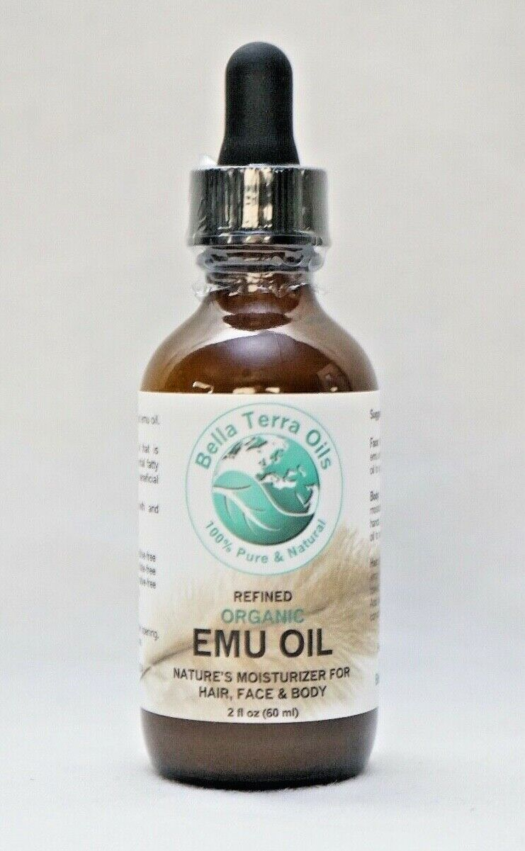 Ultra Clear Emu Oil 4 oz 100% Pure Fully Refined Filtered Or