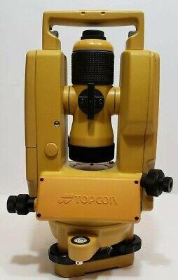 Topcon Dt-200 Series Dt-209 Digital Theodolite With Original Case Cdn Seller