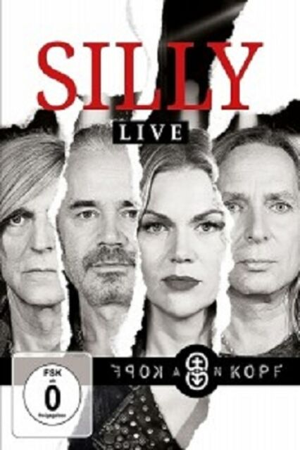 SILLY - KOPF AN KOPF (LIVE)  DVD  DEUTSCH-ROCK & POP  NEU
