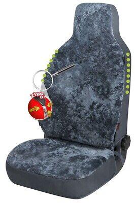 Reißverschluss Autositz Felle für Highback Sitze, ZIPP IT System, echtes Fell - Lammfell Reißverschluss Vorne