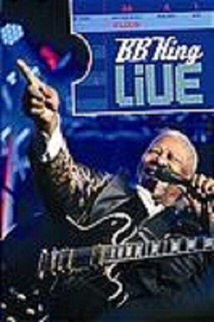 "B.B. KING ""LIVE"" DVD NEUWARE"