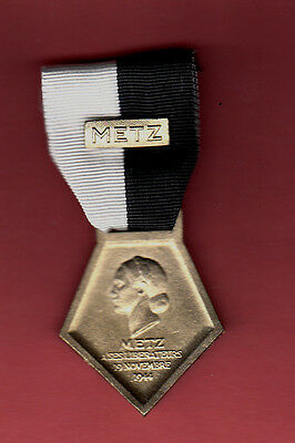 METZ LIBERATION MEDAL FRANCE FRENCH WWII WW2 95TH IN DV
