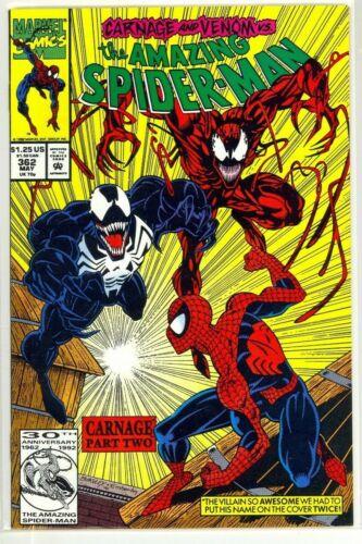 AMAZING SPIDER-MAN #362 2nd Appearance CARNAGE Venom Marvel NM+ (9.6)