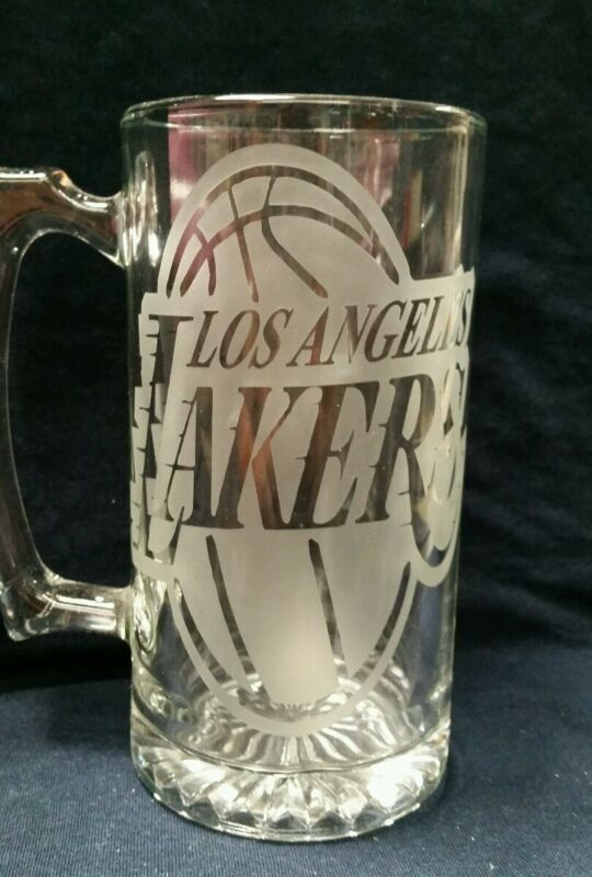 Lakers beer mug