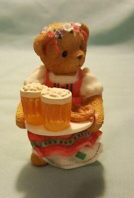 "European Cherished Teddies Zensi ""Serving Up The Best Just For You"" Oktoberfest"