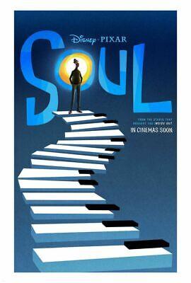 Soul - original DS movie poster - D/S 27x40 - 2020 Pixar Adv