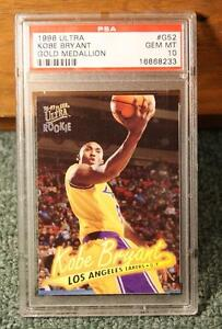1996 Fleer Ultra #G52 Kobe Bryant Rookie Gold Medallion (PSA 10) Gem Mint