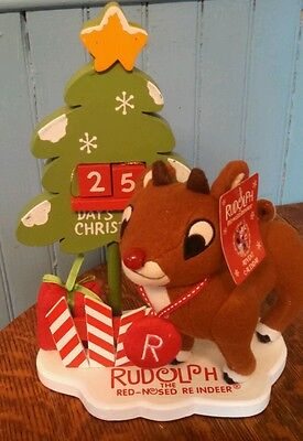 DAN DEE  RUDOLPH THE RED -NOSED REINDEER plush Christmas Advent calendar