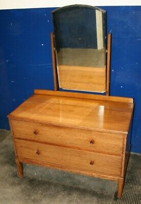 Very High Quality ~Antique ~Oak ~Dressing Table ~VGC
