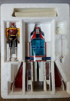 Vtg GoDaikin Machine Dolphin & MachineMan Figure Complete in Box Popy Chogokin