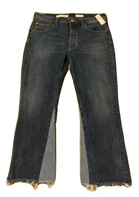 """NWT Anthropologie Pilcro and the Letterpress Wide-Leg Jeans Size 32""""x28"""" $138"""