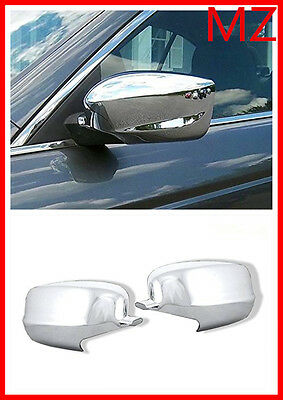 For 08-10 HONDA ACCORD CHROME DOOR Full MIRROR COVERS SET TRIM BEZEL ACCENT for sale  USA