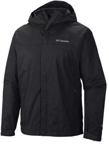 Columbia Men's Watertight II Packable Rain Jacket, Black, Sm