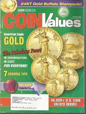 Coin Values Magazine by Coin World - October 2006 - American Eagle Gold American Eagle Gold Coin Value
