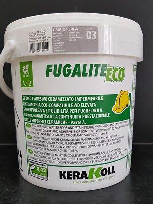 Fugalite Eco 3 kg Kera Koll grigio perla/manhatten....fliesen verfugen
