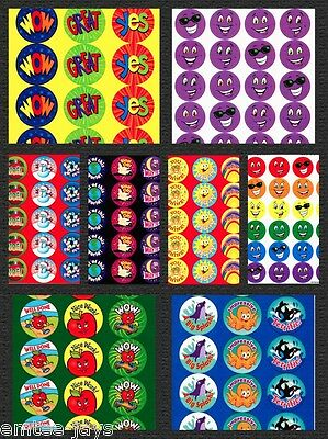 Scratch and Sniff Stickers-Teachers Awards/Rewards-Favours-Scratch n Sniff Merit - Crafts And Favors