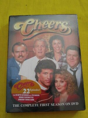 Cheers   The Complete First Season  Dvd  2003  4 Disc Set  Fast Shipping