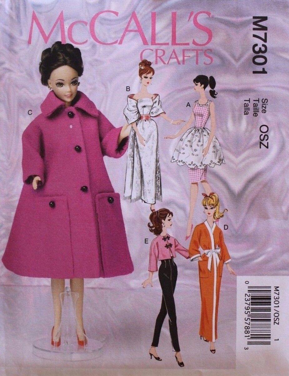 Fashion doll sewing patterns free 85