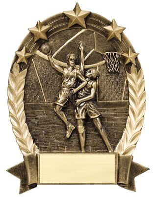 Male Resin Award (Male Basketball Resin Award Trophy.Free)
